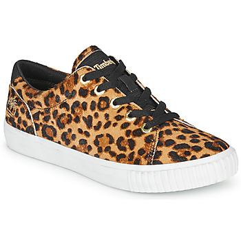 Topánky Ženy Nízke tenisky Timberland SKYLA BAY LEATHER OXFORD Leopard