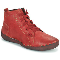 Topánky Ženy Členkové tenisky Josef Seibel FERGEY 86 Červená