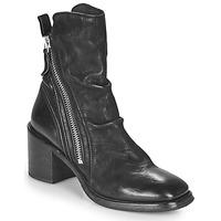 Topánky Ženy Čižmičky Moma NANINI Čierna