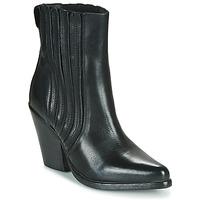 Topánky Ženy Čižmičky Moma CROSBY Čierna