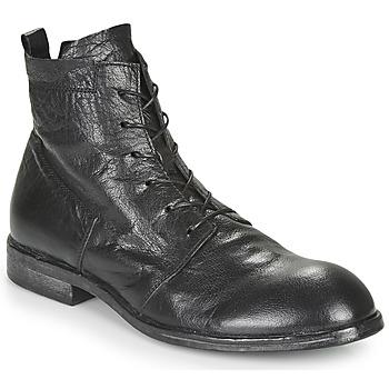 Topánky Muži Polokozačky Moma PUNTO Čierna