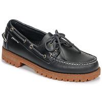 Topánky Muži Námornícke mokasíny Sebago RANGERWAXY Modrá