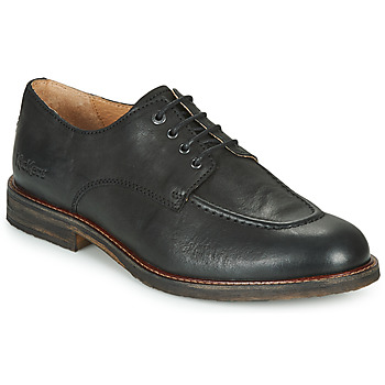 Topánky Muži Derbie Kickers ALPHABI Čierna