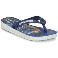 Topánky Chlapci Žabky Havaianas KIDS MINECRAFT Modrá