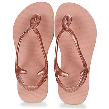 Topánky Dievčatá Žabky Havaianas LUNA MINI ME Ružová