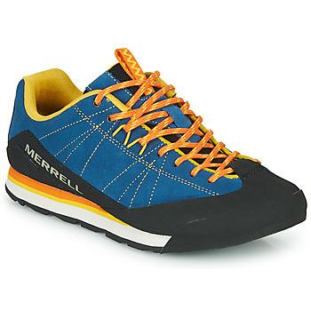 Topánky Muži Nízke tenisky Merrell CATALYST SUEDE Modrá