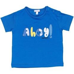 Oblečenie Chlapci Tričká s krátkym rukávom Nanan E20174 Avio