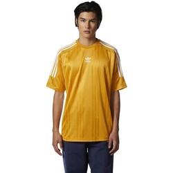 Oblečenie Muži Tričká s krátkym rukávom adidas Originals Originals Jacquard 3 Stripes Tshirt Žltá