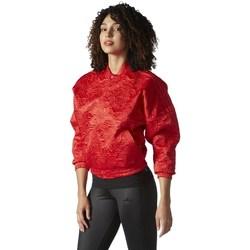 Oblečenie Ženy Saká a blejzre adidas Originals Originals Tracktop Bomber Červená