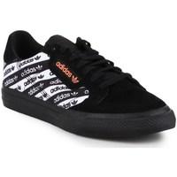 Topánky Muži Nízke tenisky adidas Originals Continental Vulc Biela, Čierna