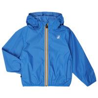 Oblečenie Deti Vetrovky a bundy Windstopper K-Way LE VRAI 3.0 CLAUDE KIDS Modrá