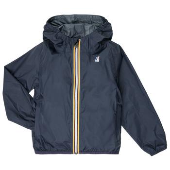 Oblečenie Deti Vetrovky a bundy Windstopper K-Way LE VRAI 3.0 CLAUDE KIDS Námornícka modrá
