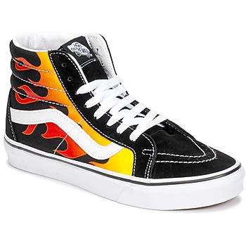 Topánky Členkové tenisky Vans SK8-HI REISSUE Čierna / Flame