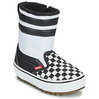 Topánky Deti Snehule  Vans YT SLIP-ON SNOW BOOT MTE Čierna / Biela