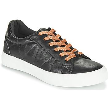 Topánky Ženy Nízke tenisky Le Temps des Cerises VIC Čierna