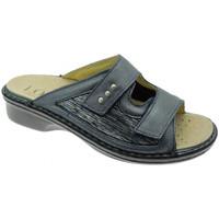 Topánky Ženy Šľapky Calzaturificio Loren LOM2824bl blu