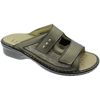 Topánky Ženy Šľapky Calzaturificio Loren LOM2824br tortora
