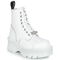 Topánky Polokozačky New Rock M-MILI083CM-C56 Biela