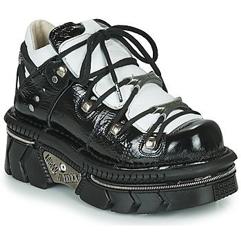 Topánky Ženy Nízke tenisky New Rock M-106N-S76 Čierna / Biela
