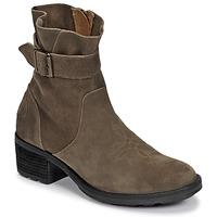 Topánky Ženy Čižmičky Palladium Manufacture MARGO 04 SUD Kaki