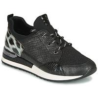Topánky Ženy Nízke tenisky Remonte Dorndorf R2503-45 Čierna / Leopard