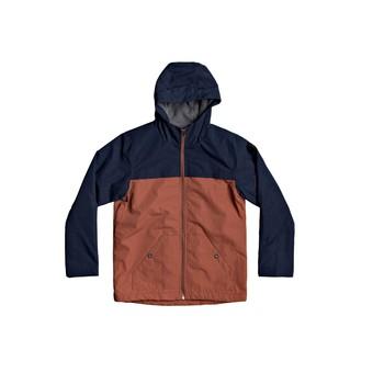Oblečenie Chlapci Bundy  Quiksilver WAITING PERIOD Námornícka modrá / Hnedá