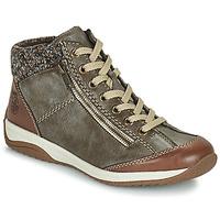 Topánky Ženy Polokozačky Rieker L5223-24 Hnedá