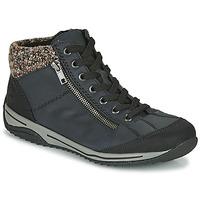 Topánky Ženy Polokozačky Rieker L5223-00 Modrá