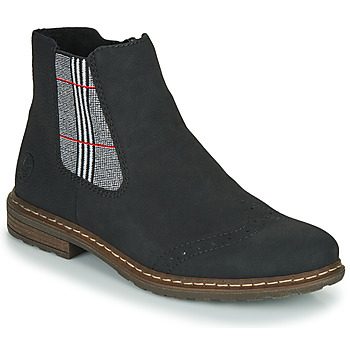 Topánky Ženy Polokozačky Rieker 71072-02 Čierna / Viacfarebná