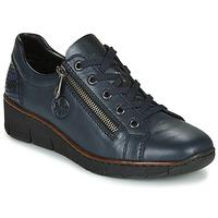 Topánky Ženy Nízke tenisky Rieker 53702-14 Modrá