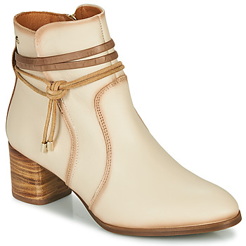 Topánky Ženy Čižmičky Pikolinos CALAFAT W1Z Béžová / Hnedá