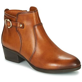 Topánky Ženy Čižmičky Pikolinos DAROCA W1U Hnedá