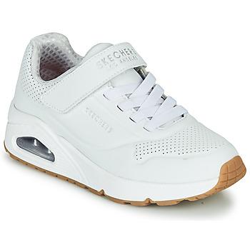 Topánky Deti Nízke tenisky Skechers UNO Biela