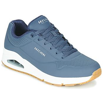 Topánky Muži Nízke tenisky Skechers UNO STAND ON AIR Námornícka modrá