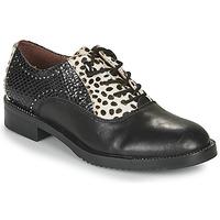 Topánky Ženy Derbie Café Noir JEREL Čierna / Biela