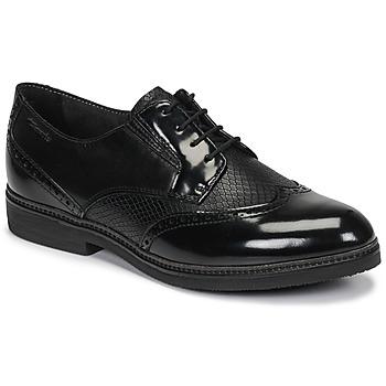 Topánky Ženy Derbie Tamaris KELA Čierna