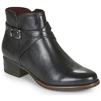 Topánky Ženy Čižmičky Tamaris MARLY Čierna
