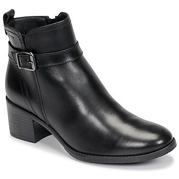 Topánky Ženy Čižmičky Tamaris PAULETTA Čierna