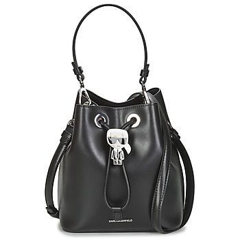 Tašky Ženy Tašky cez rameno Karl Lagerfeld K/IKONIK BUCKET BAG Čierna
