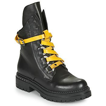 Topánky Ženy Polokozačky Metamorf'Ose HADASSA Čierna