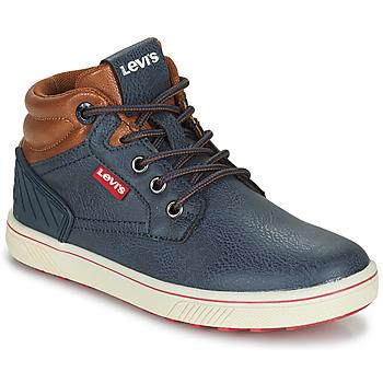 Topánky Deti Členkové tenisky Levi's NEW PORTLAND Námornícka modrá