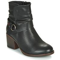 Topánky Ženy Čižmičky Emmshu FLEUR Čierna