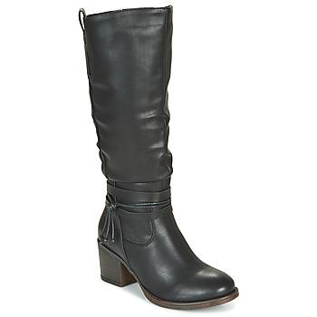 Topánky Ženy Čižmy do mesta Emmshu FILI Čierna