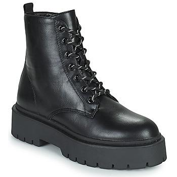 Topánky Ženy Polokozačky Gioseppo YELABUGA Čierna