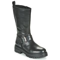 Topánky Ženy Polokozačky Gioseppo VALLENDAR Čierna