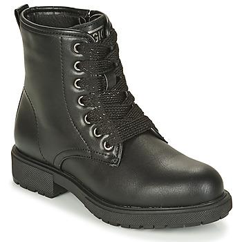 Topánky Dievčatá Polokozačky Gioseppo YELETS Čierna