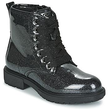 Topánky Dievčatá Polokozačky Gioseppo XANTEN Čierna