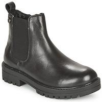 Topánky Dievčatá Polokozačky Gioseppo ZEIL Čierna