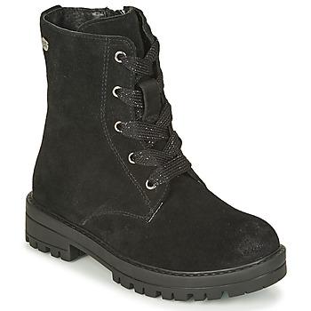 Topánky Dievčatá Polokozačky Gioseppo DASSEL Čierna