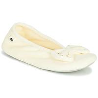 Topánky Ženy Papuče Isotoner 95991 Slonia kosť